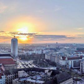 Blick über Leipzig