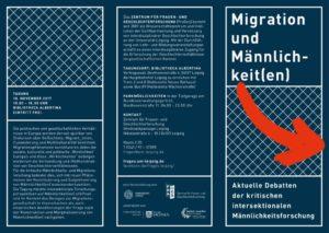 thumbnail of Migration und Männlichkeit(en) Flyer
