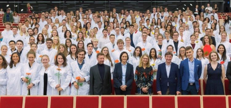 White Coat Ceremony 2017 (© Swen Reichhold, Universität Leipzig)