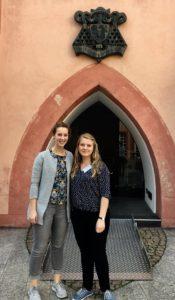 Sanja und Margarethe beim IMPP-Workshoptag im Oktober 2017