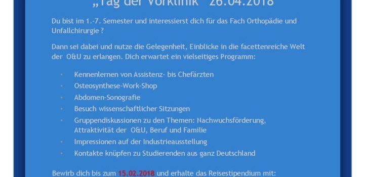 thumbnail of Plakat Tag der Vorklinik 2018