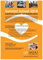 thumbnail of Summer School 2018 Anästhesie, Intensiv- und Notfallmedizin AQAI Mainz