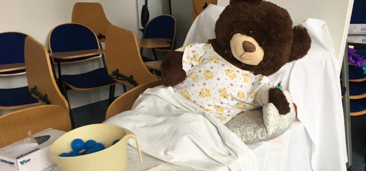 Mein Teddy hat Krebs – Wie erkläre ich Kindern Krankheit und Tod