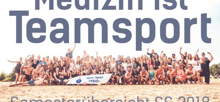 Medi-Sport Leipzig: Kurs- & Eventübersicht SS2018