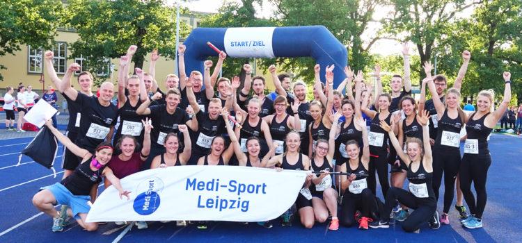 1. Platz für Team des Medi-Sport Leipzig beim RUNiversität 2018