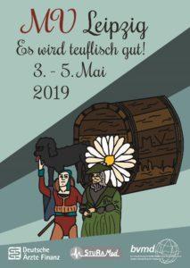 Plakat der 1. Sommer-MV in Leipzig