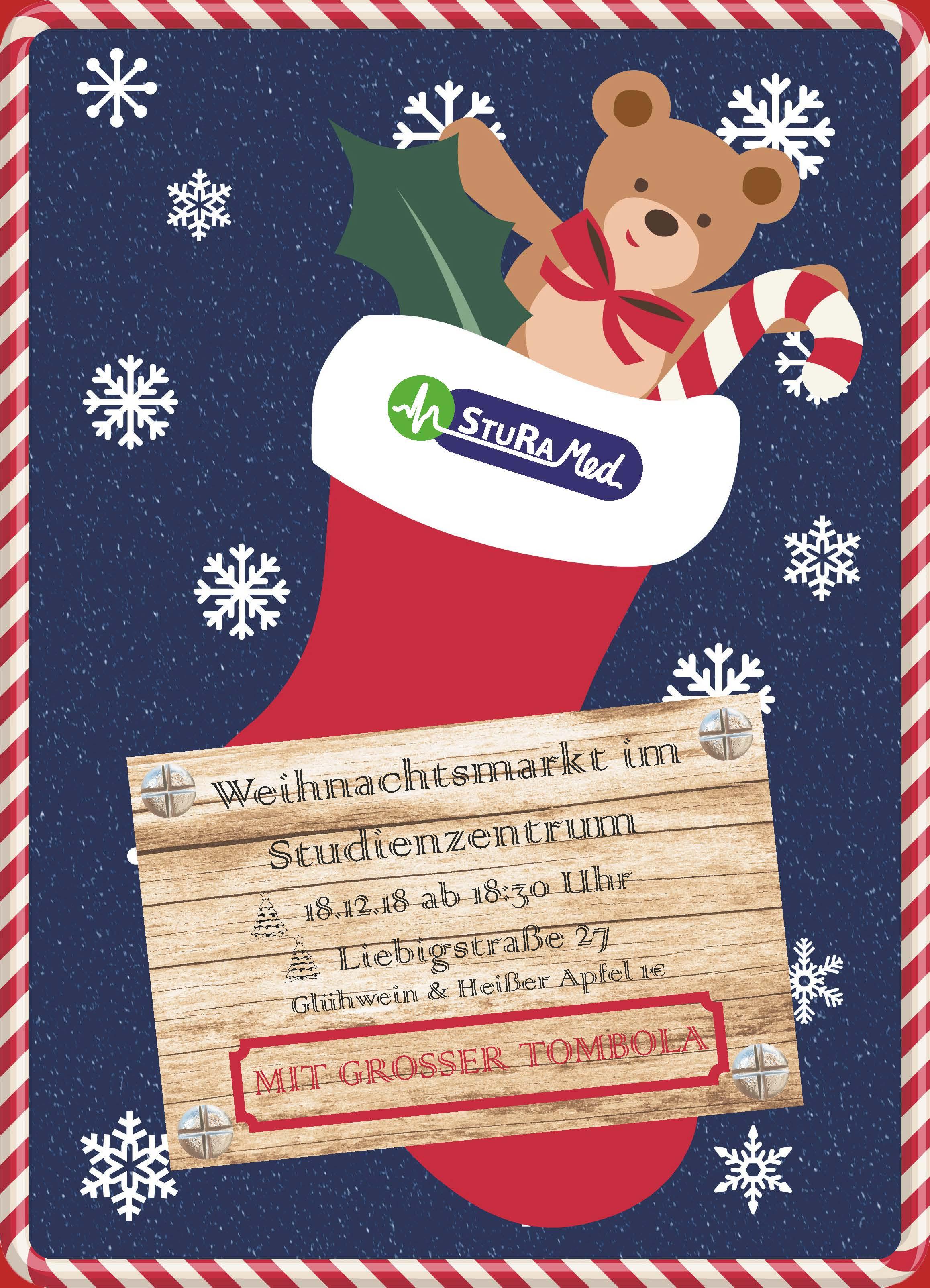 Weihnachtsmarkt Ende.Weihnachtsmarkt Im Studienzentrum Sturamed Leipzig