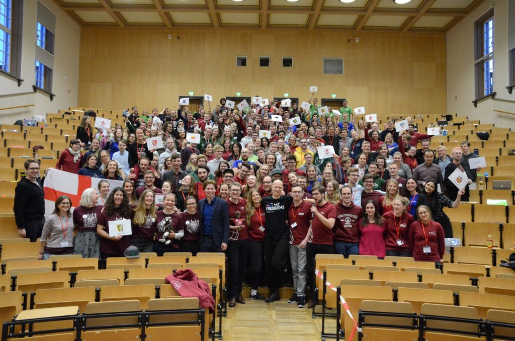 Mehr als 200 Medizinstudierende nahmen an der MV teil.