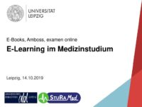 E-Learning im Medizinstudium